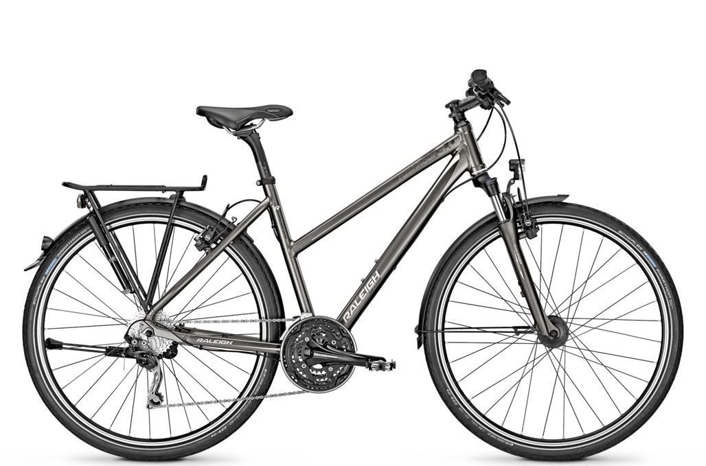 raleigh rushhour 3 0 hs trekking bike 2015 online preiswert. Black Bedroom Furniture Sets. Home Design Ideas