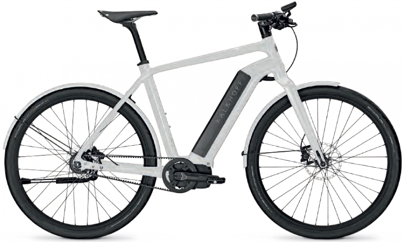 kalkhoff integrale 8 ltd white trekking ebike 2016. Black Bedroom Furniture Sets. Home Design Ideas