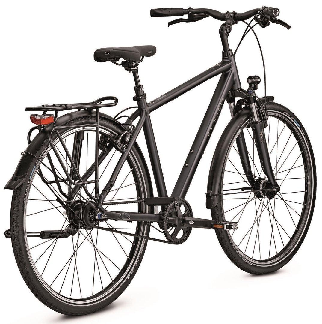 kalkhoff image premium 8 trekking city bike 2017 online. Black Bedroom Furniture Sets. Home Design Ideas