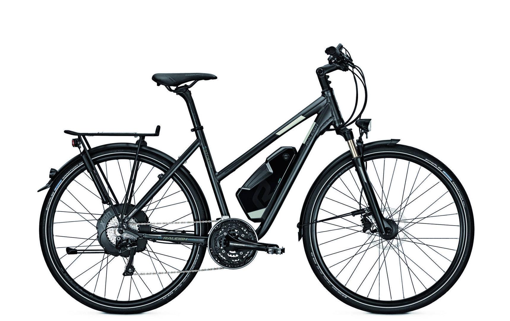 raleigh stoker x5 elektro fahrrad trekking ebike 2017. Black Bedroom Furniture Sets. Home Design Ideas